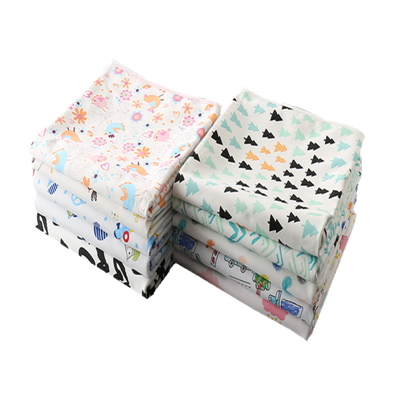 Print Baby Changing Pad Cover Waterproof Nappy Changing Mat Baby Cloth Diapers Baby Waterproof Diapers Fralda Diapers Reusable