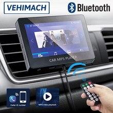 4.3 mpmpcarro mp5 player bluetooth fm transmissor kit wireles controle remoto mãos-livres aux usb de carregamento universal auto multimídia