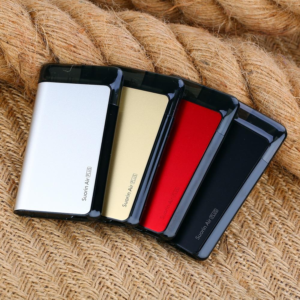 Kit d'air Plus de Suorin d'origine batterie 930mAh et Kit d'air de 3.5ml VS kit d'air de Suorin batterie 400mAh et Kit de vape de cigarette électronique de 2ml