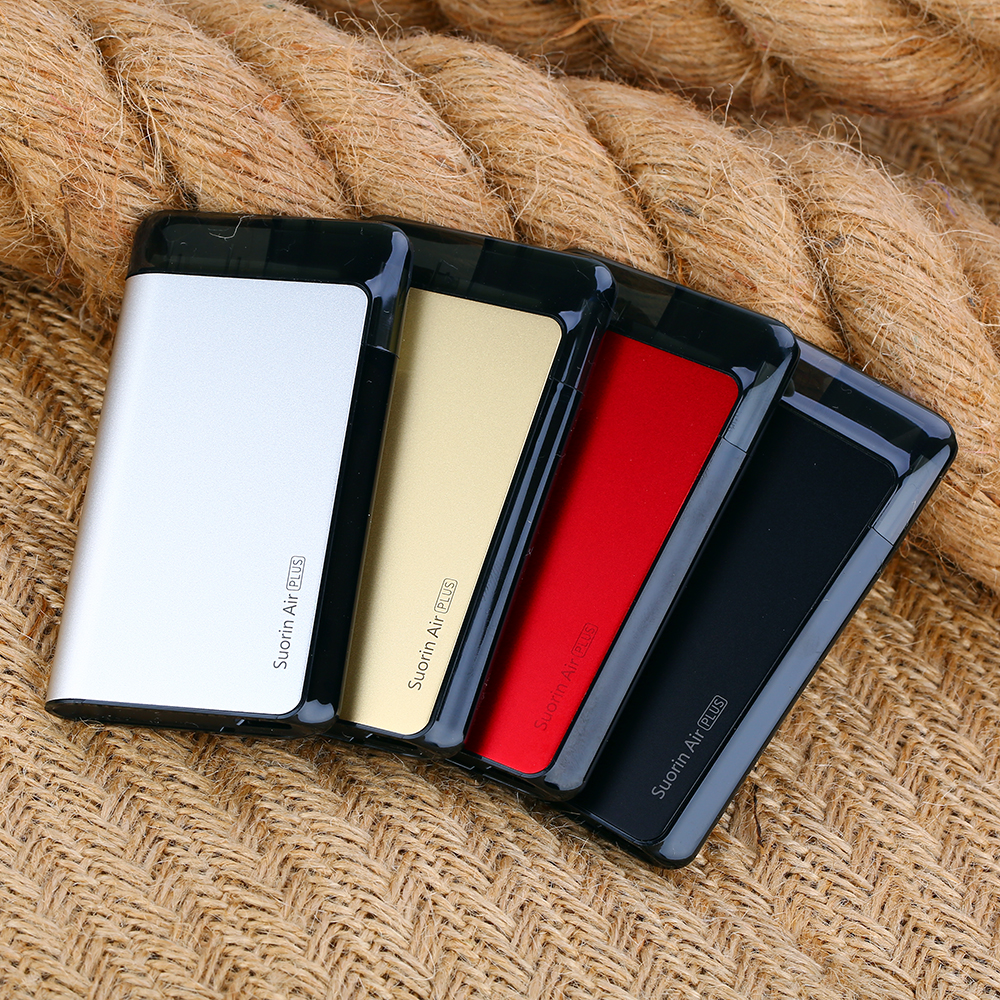 Original Suorin Air Plus Kit 930mAh Battery & 3.5ml Pod VS Suorin Air Kit 400mAh Battery & 2ml Pod Electronic Cigarette Vape Kit