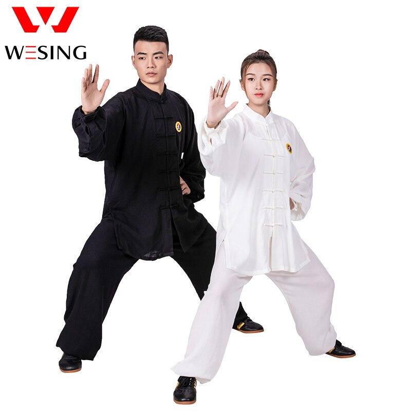 WESING Tai Chi Uniform Kung Fu Martial Arts Cotton Clothes Traditional Chinese  Tai Chi Clothing