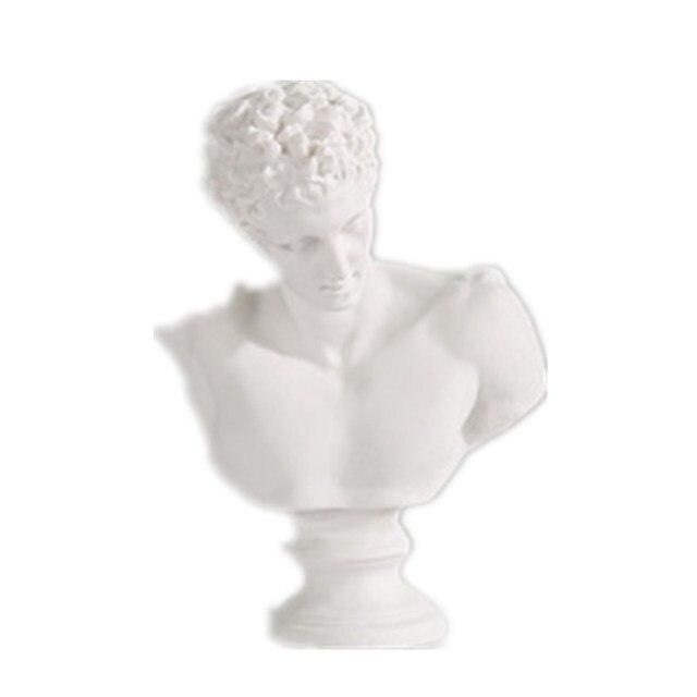 Statue de déesse michel-ange Buonarroti   Buste de Laocoon et ses fils, Mini Statue de gypse, décoration de maison, résine, Art et croquis artisanal pratique R3228