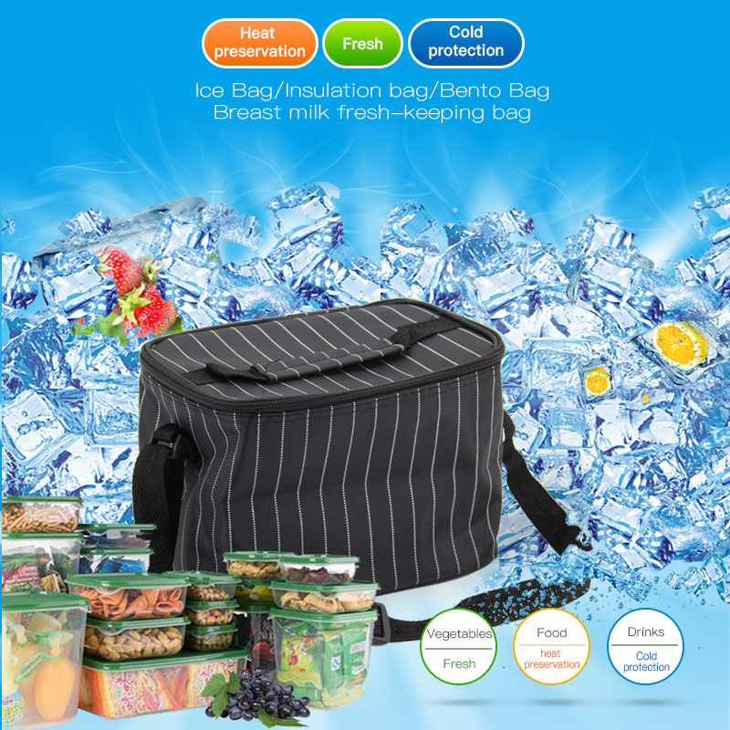 Cooler Bag Portable Thermal Lunch Bags Organizer Home Outdoor Camping Picnic Packet Waterproof Food Thermal Bag Bento Box Tote