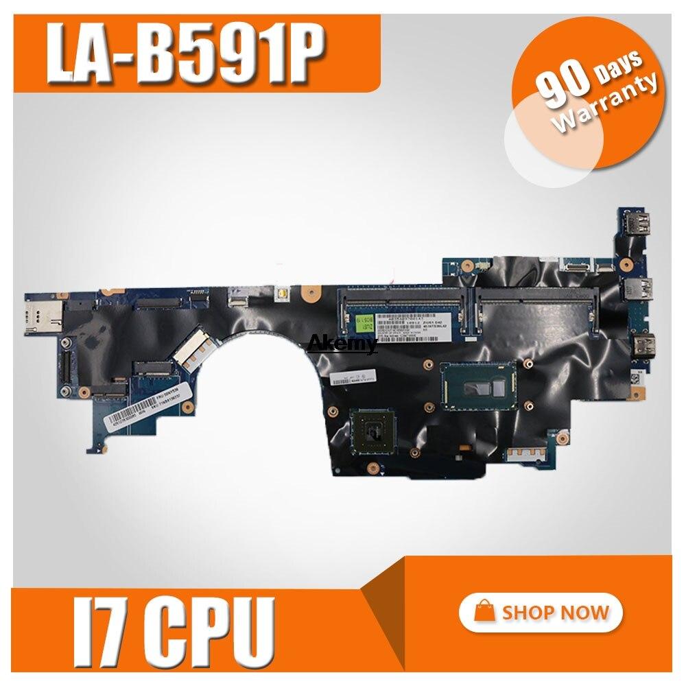 00JT361 ZIUS1 LA B591P для lenovo Thinkpad Yoga S5 15 материнская плата для ноутбука I7 5500U с GT840M 4G оригинальный mothebroard
