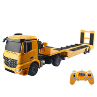 1:20 2.4G Electric Remote Control Car Model Flatbed Trailer Tractor Engineering Truck Educational Toy Gift For Kid Adult   XL
