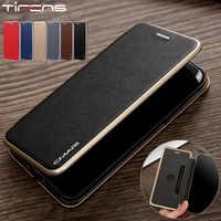 Funda abatible de cuero de lujo para iPhone 11 Pro XS Max XR X cartera Coque para iPhone 7 8 6 funda con soporte de tarjeta magnética fuerte s Plus