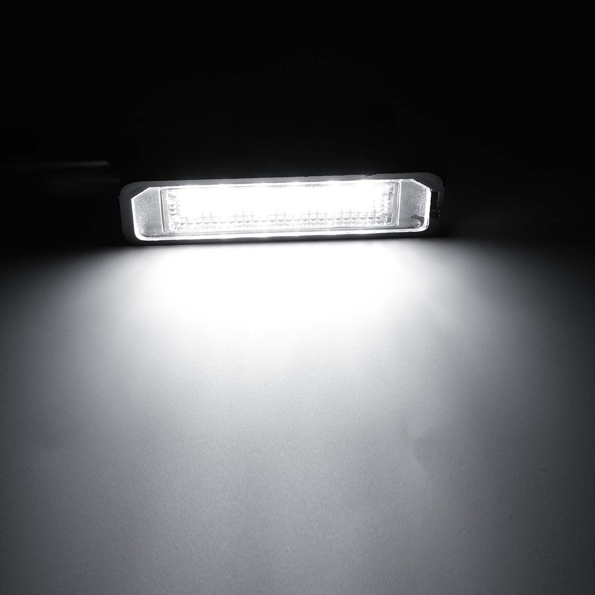 2pcs 12v 5w Led Number License Plate Light Lamps For Vw Golf 4 6 Polo 9n For Passat Car License Plate Lights Exterior Access Super Deal 7cbba Cicig