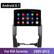 Android 8 1 IPS 2din Car Multimedia Stereo Player Radio For KIA Sorento 2009-2013 GPS Navigation Wifi Bluetooth Carplay No DVD cheap CN(Origin) Double Din 4*48w JPEG ABS+Metal 1024*600 1 7kg Built-in GPS Mobile Phone MP3 Players Radio Tuner Touch Screen