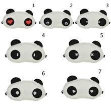 Дышащая маска для сна милая панда повязка на глаза детей и женщин