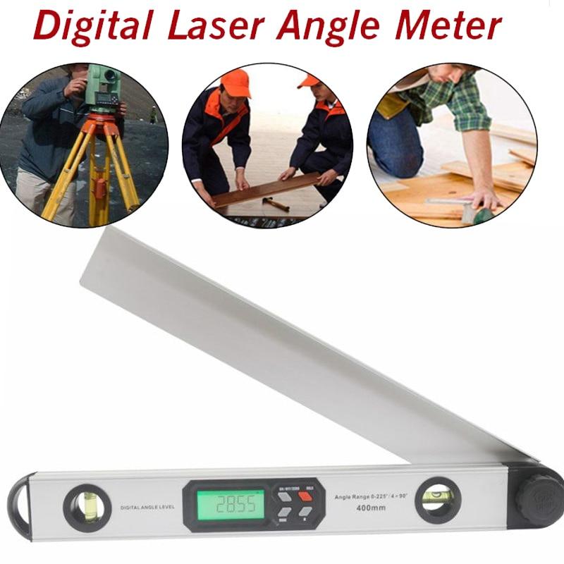Цифровой углоискатель 400 мм 16 дюймов, цифровой транспортир, уровень цифрового спиртового уровня, Измеритель угла