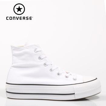 Converse Chuck Taylor All Star-zapatillas de deporte de alta limpieza para mujer,...
