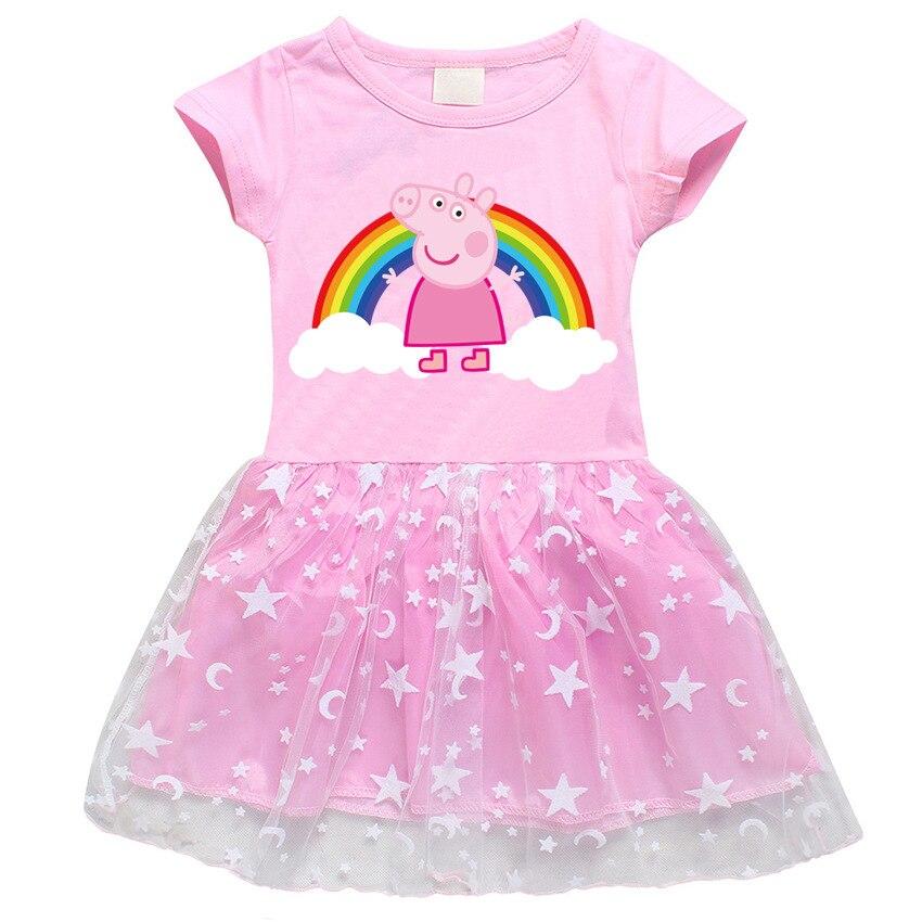Peppa Pig Original Model Toys Lovely Kids Girl Dresses Cute Girl Dresses Toys Peppa Pig Original Dolls Gift