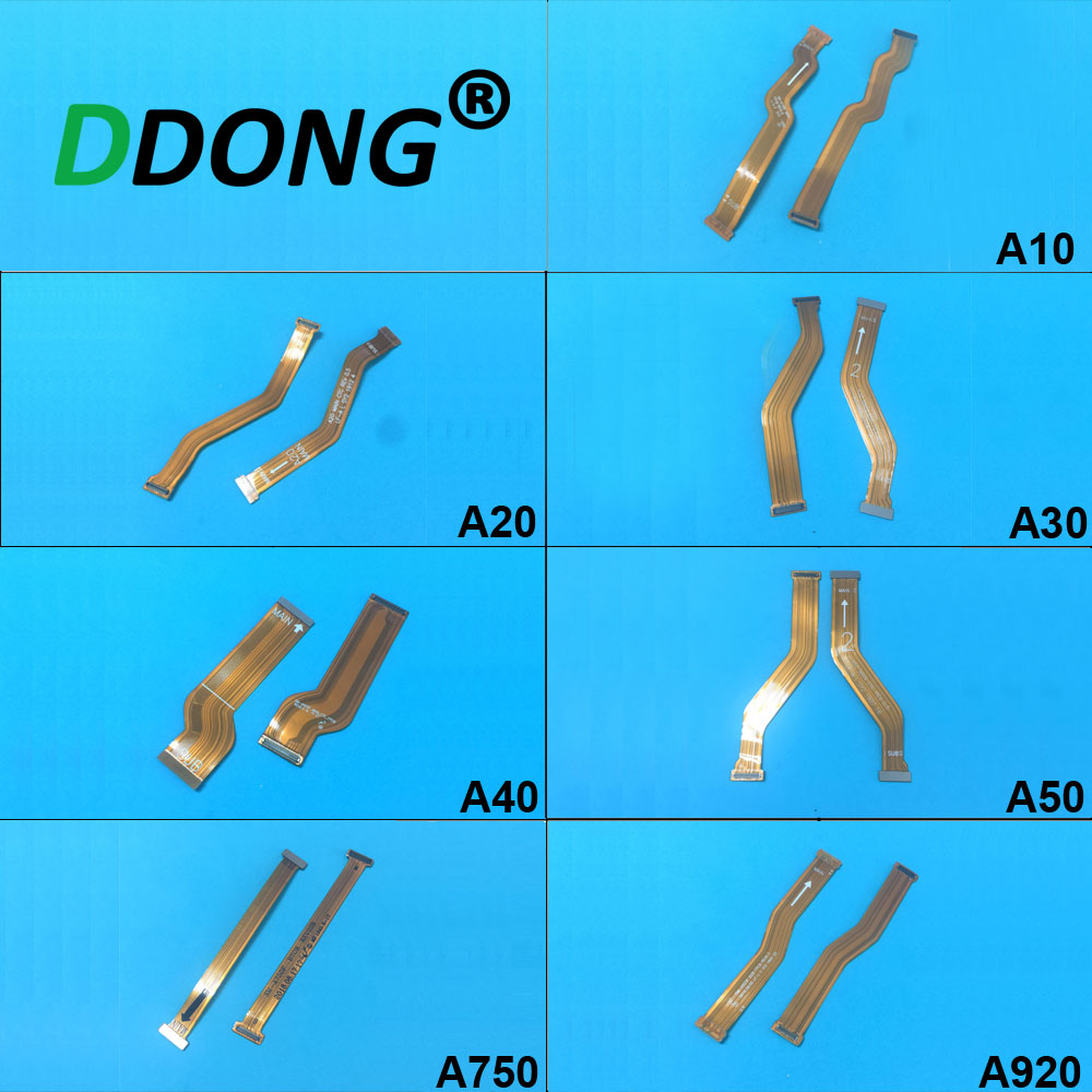 For Samsung A10 A105 A20 A205 A30 A305 A40 A405 A50 A7 2018 A750 A9 2018 A920 Main Board Motherboard LCD Connector Flex Cable