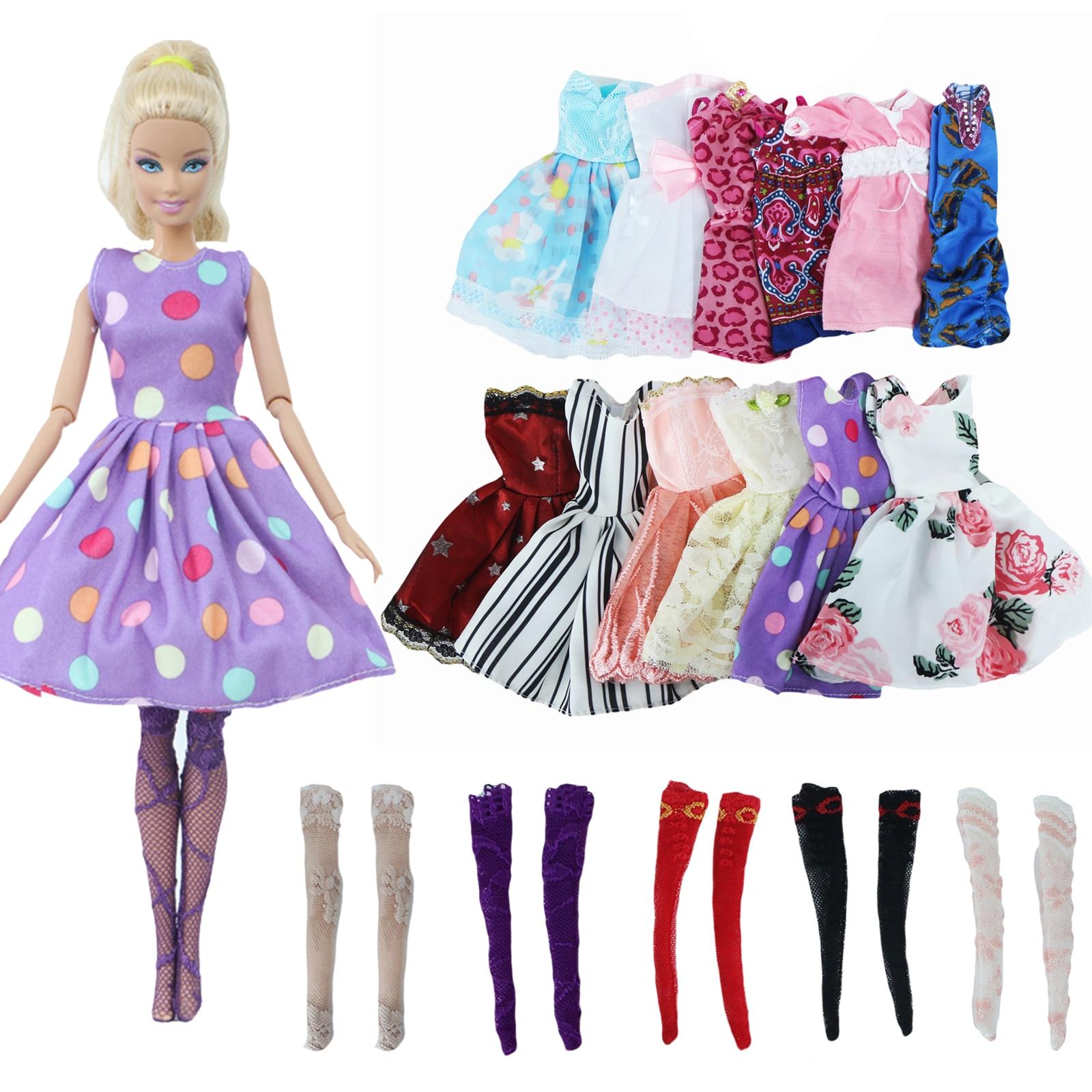 3 Pieces Random Color Doll Clothes Bathrobe for 30 cm Doll