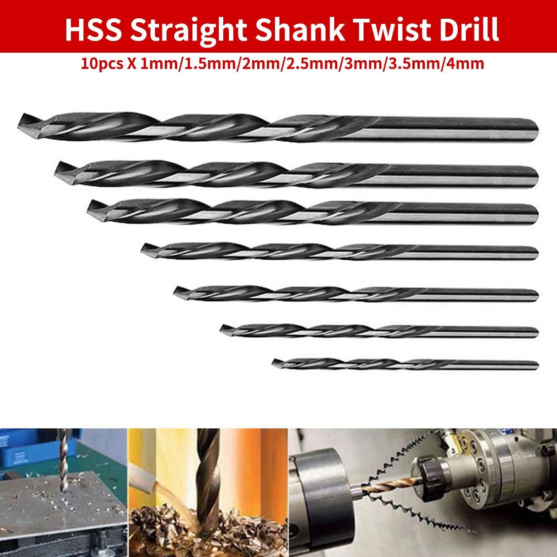 HSS Straight Shank 6.4mm Diameter Twist Drilling Bit for Electric Drills