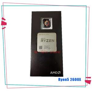 Image 3 - חדש AMD Ryzen 5 2600X R5 2600X3.6 GHz שש ליבות עשר חוט מעבד מעבד YD260XBCM6IAF שקע AM4 עם Cooler קירור מאוורר