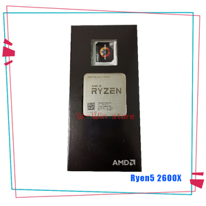 Image 3 - New AMD Ryzen 5 2600X R5 2600X 3.6 GHz Six Core Twelve Thread CPU Processor YD260XBCM6IAF Socket AM4 With Cooler Cooling Fan