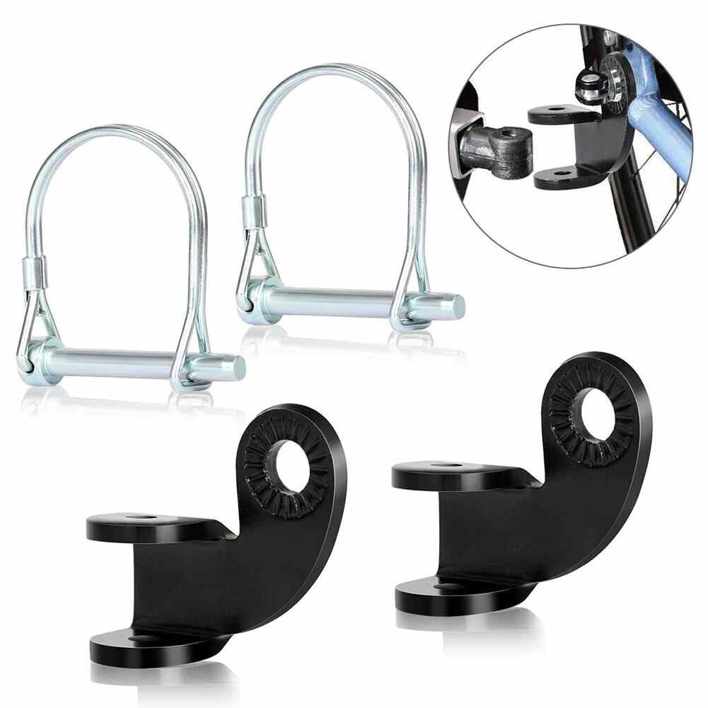 Bicycle Trailer Hitch Coupler Towbar 90° Baby Sundry Bike Accessory Coupler New