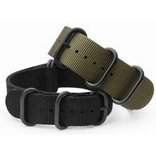 Kit de correa de reloj de nailon para Suunto Core, 5 anillos, cierre PDV de 20, 22 y 24mm, Zulu para Nato G10 + herramientas