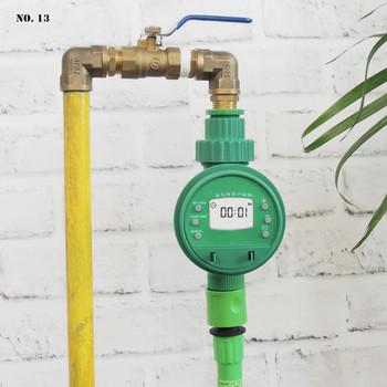Podlewanie ogrodu zegar automatyczne nawadnianie sterownik zraszacz sterownik nawadniania System nawadniania podlewanie ogrodu narzędzie tanie i dobre opinie Ac pro Z tworzywa sztucznego Garden Watering Timer Irrigation Controller smart watering timer auto plant watering timer