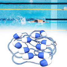 Swimming Pool Safety Float Lines Divider Rope 5m Floating Rope Lane Line Pool A Must-have Accessory Equipment (11 Balls)
