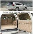 Per Toyota LAND CRUISER PRADO 150 2010-2020 5 & 7 Sedile Posteriore Tronco Vassoio Liner Cargo Zerbino piano Della Protezione del piede pad Zerbino s