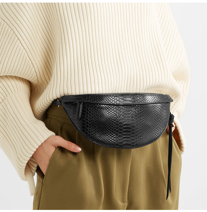 Serpentine Women Waist Bag Designer Luxury Female Fanny Pack High Quality Belt Bag Banana Shoulder Crossbody Chest Bag Hip Pouch
