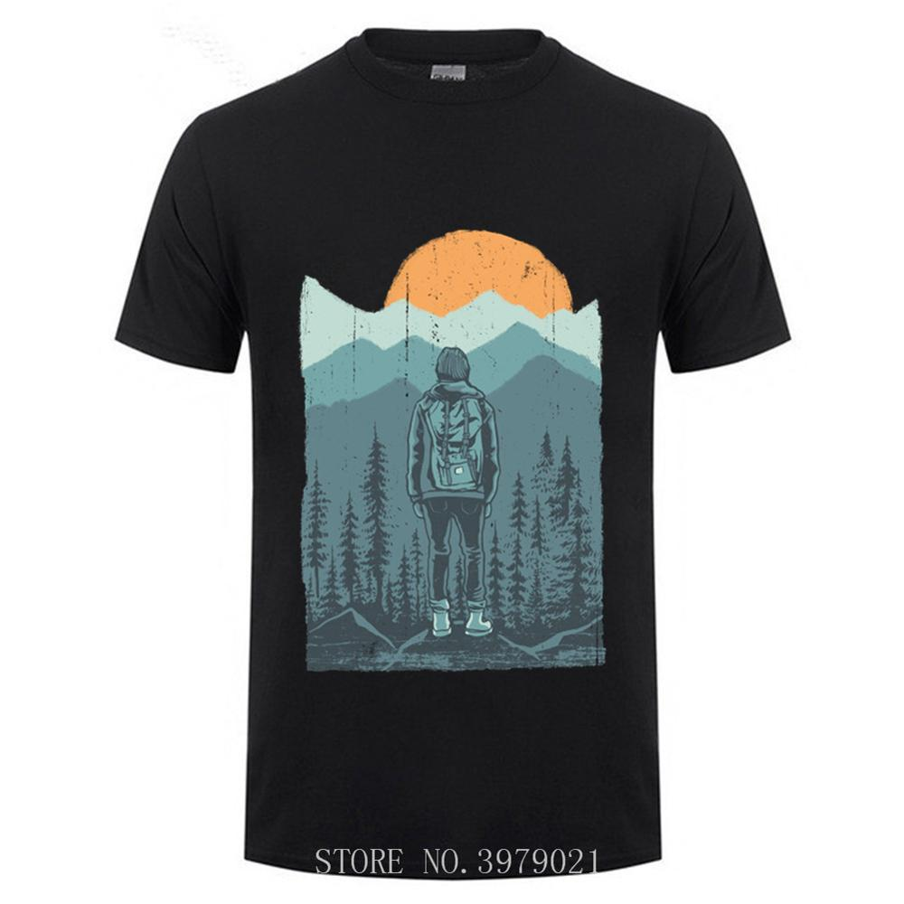 Hiker Rock Climbing T-SHIRT Climber Short Sleeve  Funny Gift Birthday O-Neck T Shirt Comfortable All Cotton Tees