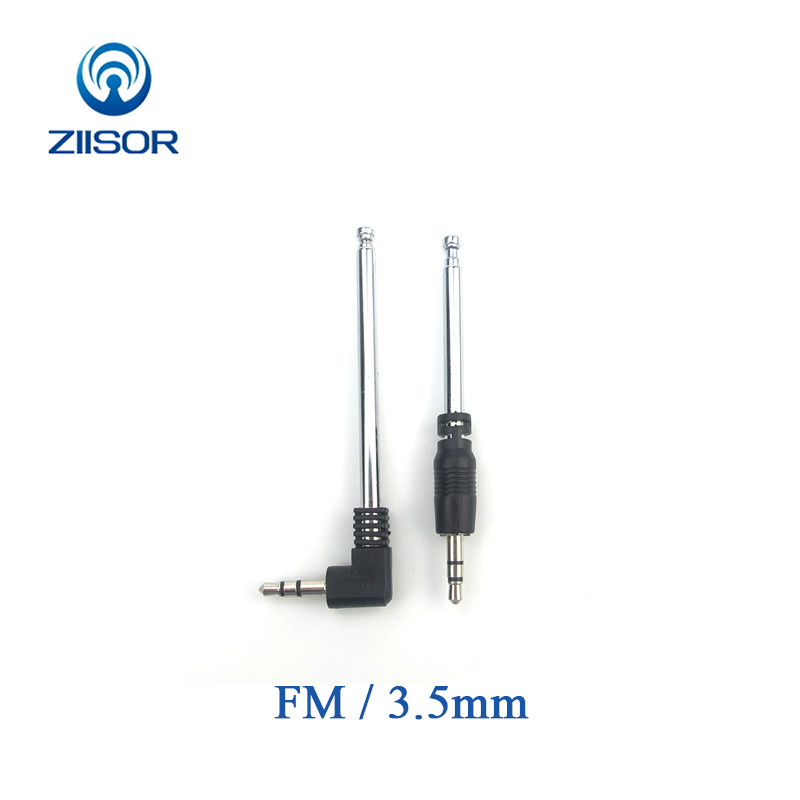 FM Radio Antenna Phone Smartphone Radio Telescopic Antennas 3.5mm Jack Retractable Buletooth Radio Antena Z131-SFMYP