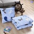 Hot 2 em 1 Cochilando Cobertor Dobrar Cobertor Macio E Confortável com Almofada de Volta para o Trabalhador de Escritório XJS789