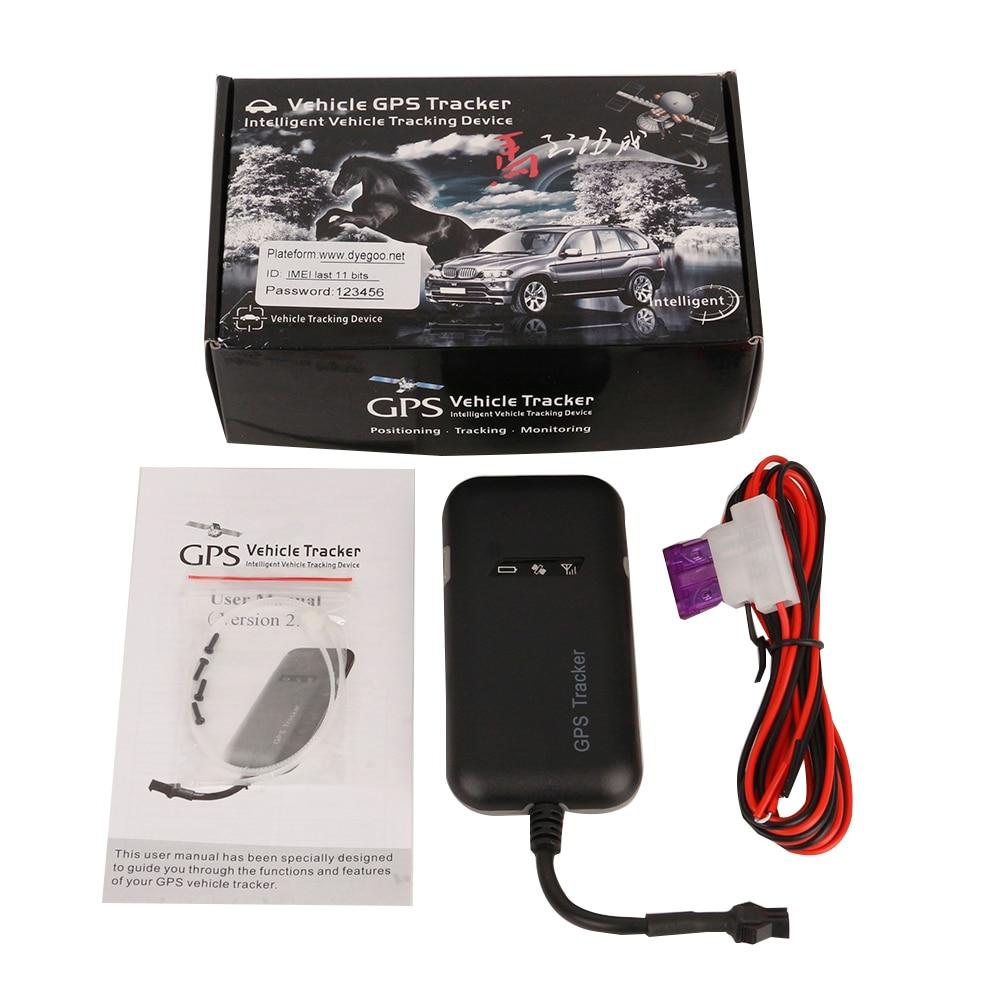 GPS auto GT02A Gegarandeerd 4 bandes | 100%, Google koppeling, suivi en temps réel, fournitures