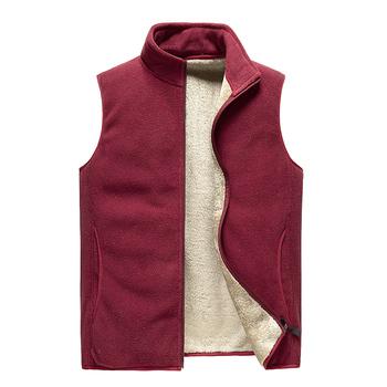 2021 mężczyźni Zipper kamizelki dorywczo mody bawełniane kamizelki zimowe mężczyźni kamizelka bez rękawów z polaru ciepłe kurtki kamizelki męskie kamizelki tanie i dobre opinie Crocodile Jesień I Zima CN (pochodzenie) Daily COTTON POLIESTER Na co dzień Vest Men #39 s jacket men vests men clothing