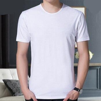 Men's cotton fashion casual short-sleeved T-shirt  724