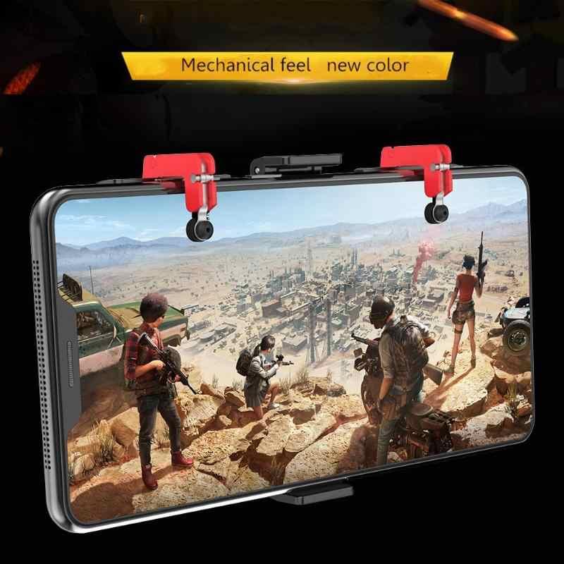 PG-9137 Tay Cầm Chơi Game Bluetooth Điện Thoại Game Kim Loại Tiến Hành Nhanh Chóng Và Không Chậm Trễ Kích Hoạt Mục Tiêu Bắn Súng Cho Pubg