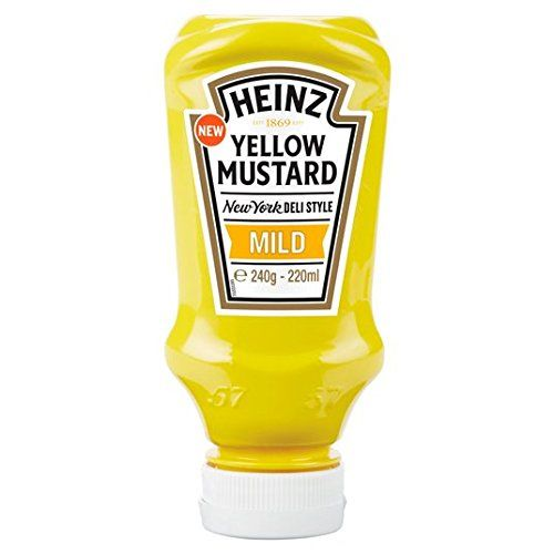 Heinz Yellow Mustard 220ml Doux