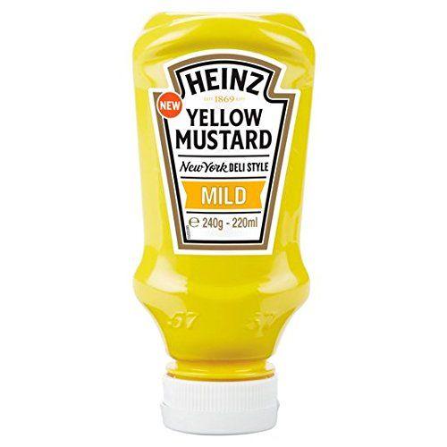 Heinz Yellow Mustard 220ml Doux