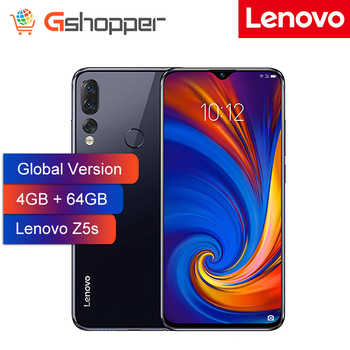 Global Version Lenovo Smart Phone Z5S 4GB 64GB Octa-core Snapdragon 710 AI Triple Rear Cameras ZUI 10.0 4G FDD LTE Android P - DISCOUNT ITEM  35% OFF All Category
