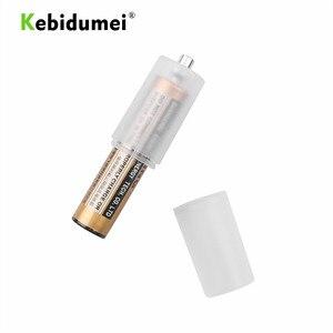 Image 3 - Kebidumei 10 sztuk AAA to rozmiar AA komórka przetwornica do baterii Adapter uchwyt baterii schowek obudowa z tworzywa sztucznego przełącznik dla AAA do AA