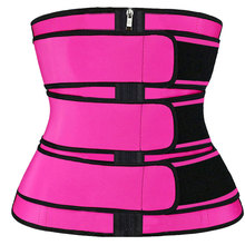 Curve Shaper Sweat-Belt Waist-Trainer Corset Neoprene Women Slimming Sheath Reducing