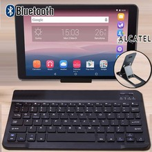 Wireless Bluetooth Keyboard for Alcatel 1T 10/3T 10/A3 10/Plus 10/OneTouch Pixi 3 10 Tablet Portable Wireless Bluetooth Keyboard
