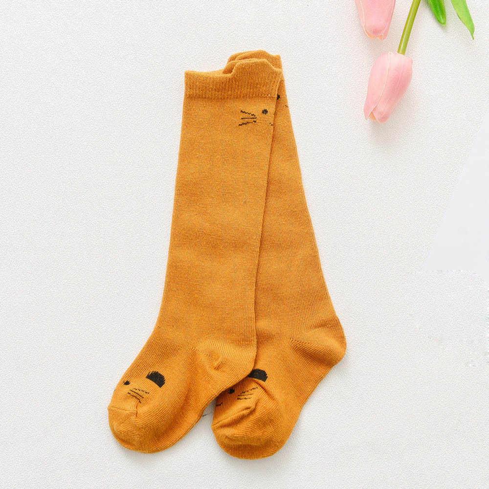 2019 nuevo primavera otoño lindo Animal de dibujos animados zoológico calcetines para bebé y niñas niños algodón cálido suave Sox mantener caliente accesorios para bebés #30