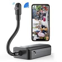 JOZUZE bezprzewodowy DIY Mini kamera era zdalny Monitoring Wifi HD wideorejestrator mikrokamera Mini kamera wykrywanie ruchu aparat DV