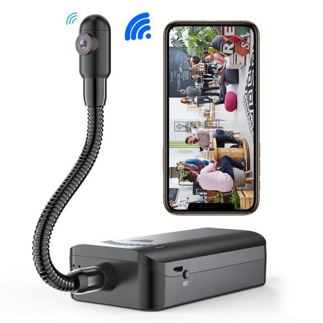 JOZUZE wireless DIY Mini Camera Remote Monitoring Wifi HD Video Recorder Micro Camcorder Mini Cam Motion Detection DV camera