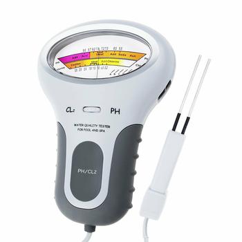 Spot przenośny cyfrowy Monitor Ph Tester miernik wody analiza chloru basen zestaw testowy QP2 tanie i dobre opinie