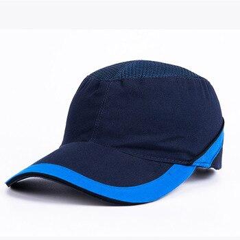 Καπέλο Με Πλαστικό Κράνος Προστασίας Κεφαλής Από Πτώση Σκληρών Αντικειμένων