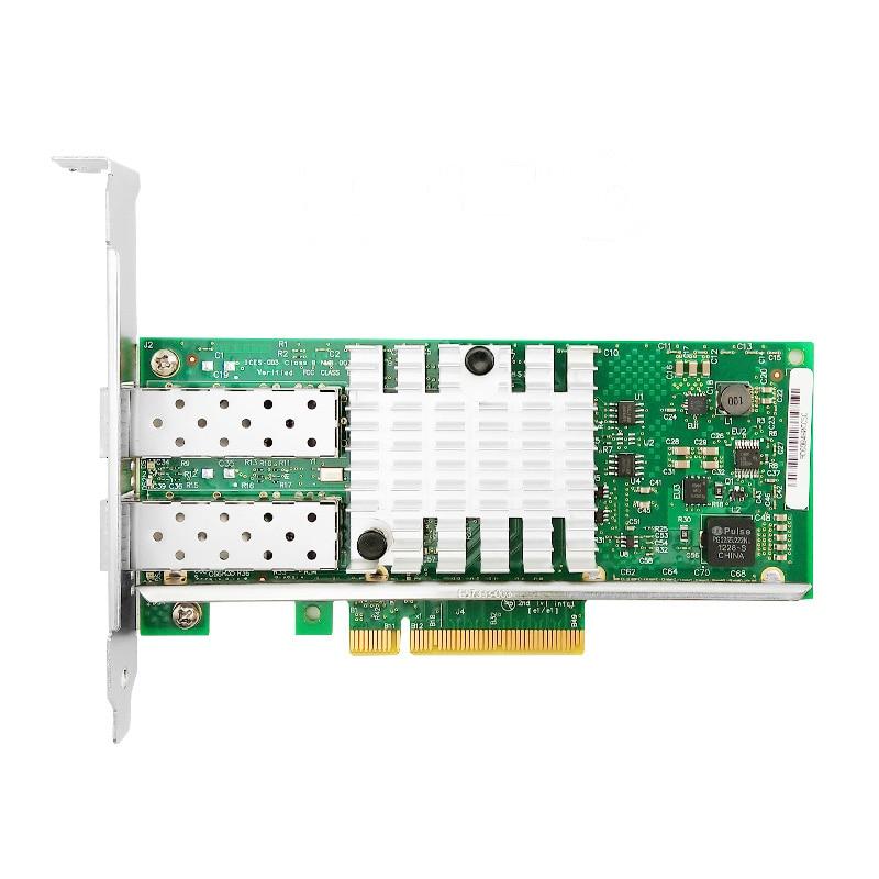 X520-DA2 10G SFP+ dualport PCIe 2.0 x8 Intel 82599ES Chip Ethernet Network Adapter(China)