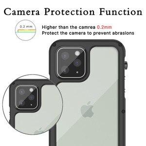 Image 4 - IP68 Wasserdichte Telefon Fällen für iPhone 11 Pro X XR XS Max Fall Schwimmen Tauchen Wasserdichte Metall Abdeckung Coque