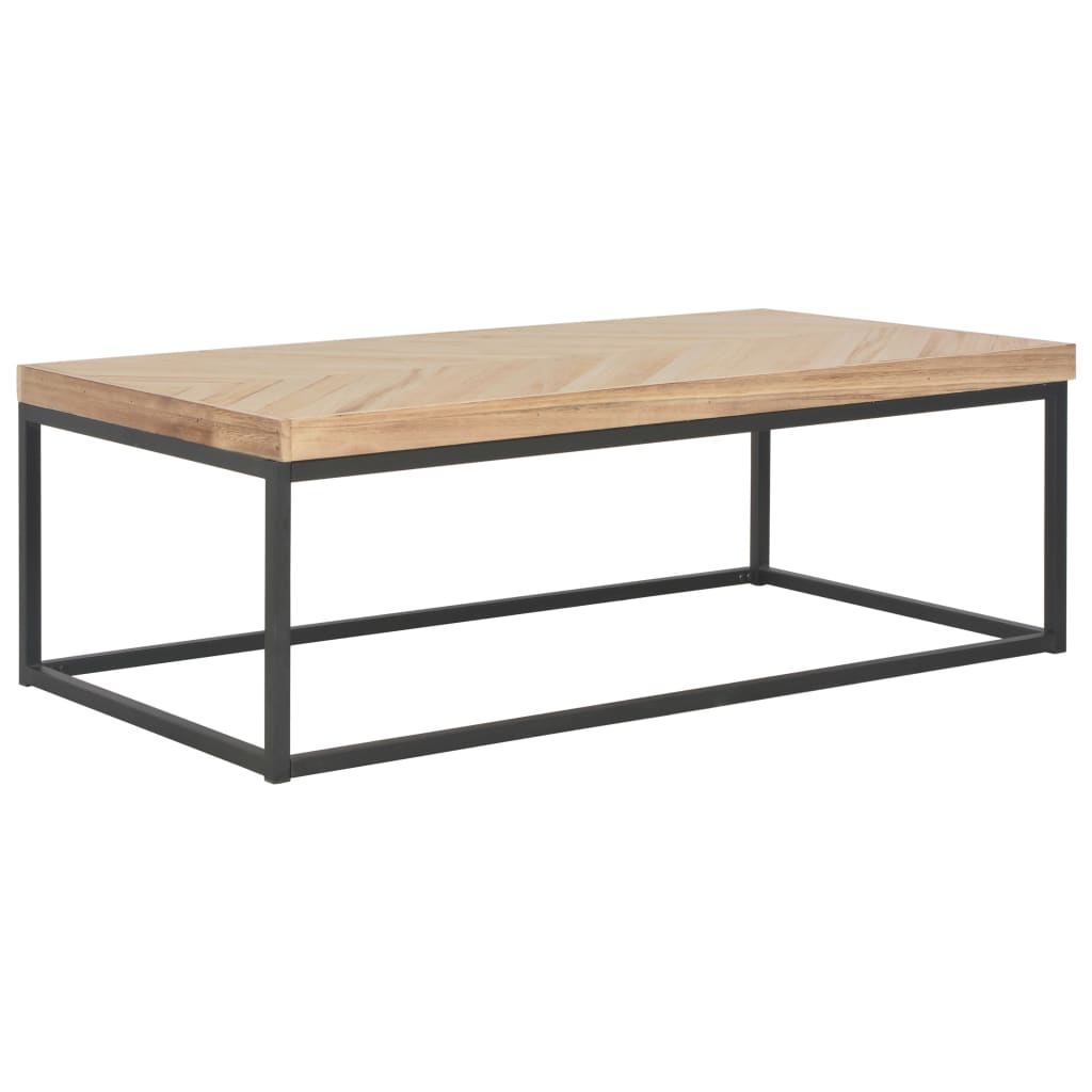 VidaXL Coffee Table 110x60x37 Cm Solid Wood