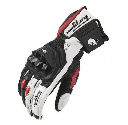Venda quente novo afs6 luvas da motocicleta luvas de corrida luvas de ciclismo luvas de couro duas cores