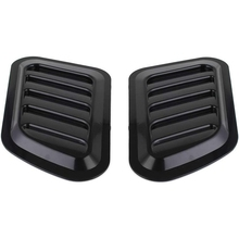 2 x ABS Car Universal Decorative Intake Scoop Turbo Bonnet Vent Cover Hood Auto
